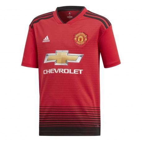 Manchester United HOME T-Shirt 18/19 - Adidas Junior
