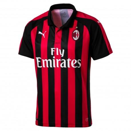 aaecc63be80 Soccer Solution Store | Home AC Milan Shirt 18/19 PUMA