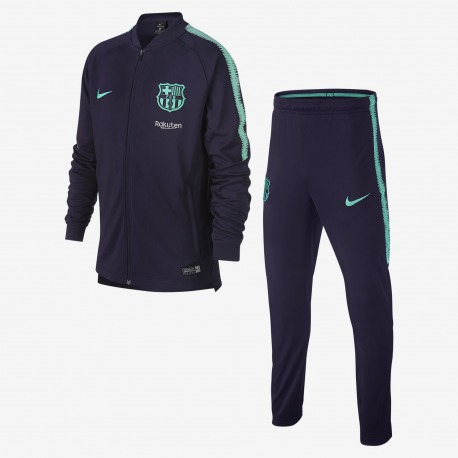 CHANDAL del FC BARCELONA Dri-Fit Squad 18/19 Junior- NIKE