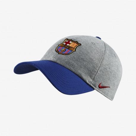 GORRA del FC BARCELONA H86 18/19, en color gris - Nike