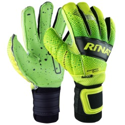 GLOVES RINAT KANCERBERO QUANTUM SPINES TURF Green-Yellow KID