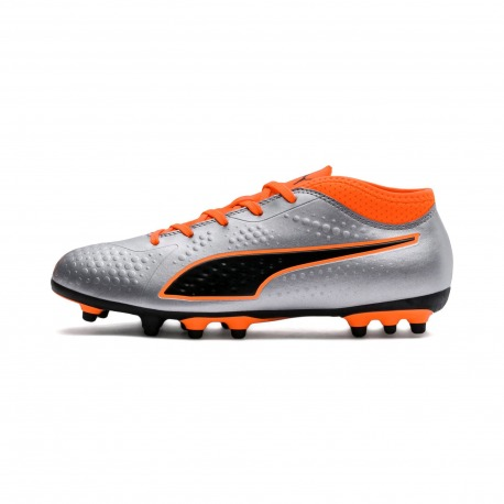 6cbe6769d411 Soccer Solution Store | Puma One 4 Syn AG Junior Silver
