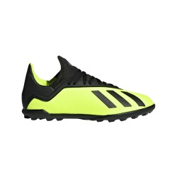 BOTAS de fútbol ADIDAS X TANGO 18.3 TF Junior TEAM MODE color Amarillo - Negro