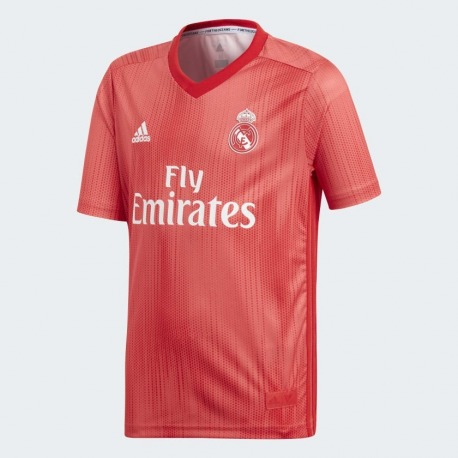 Camiseta de la 3ª Equipación del REAL MADRID 18 19 Junior Adidas 18c4839355fd5