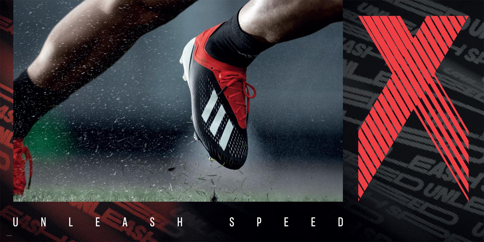 Adidas Initiator Pack - X 18.1 FG