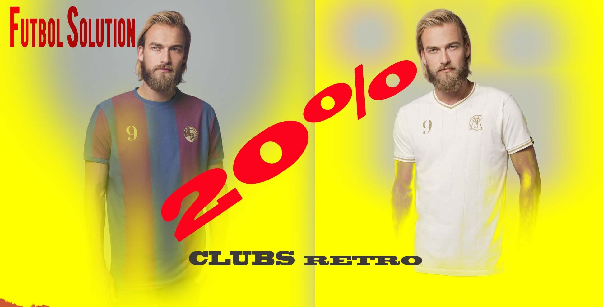 20% rebajas en clubs retro de futbol - Football legends - coolligan