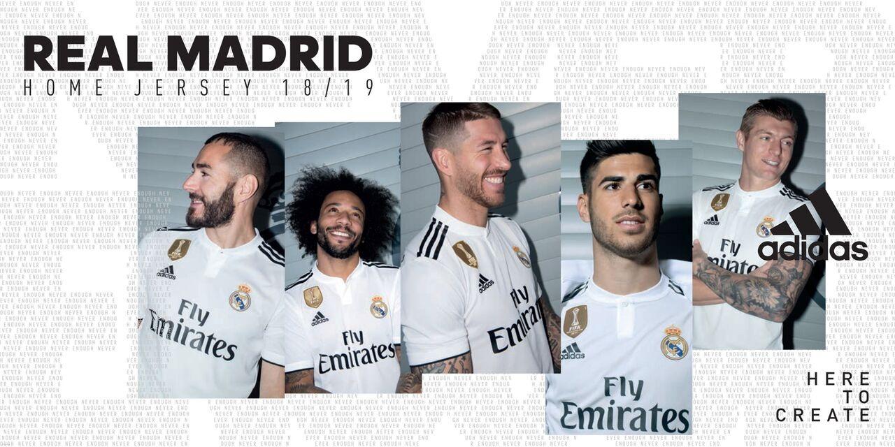 Equipaciones Real Madrid