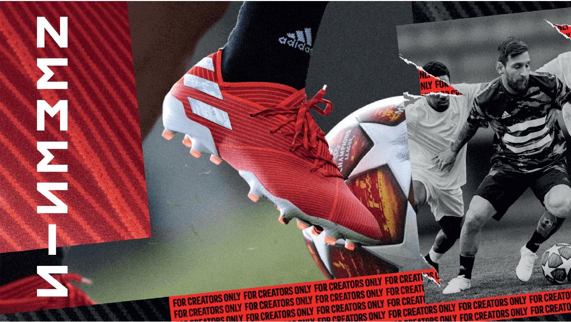 Colección de botas de fútbol Adidas 302Redirect